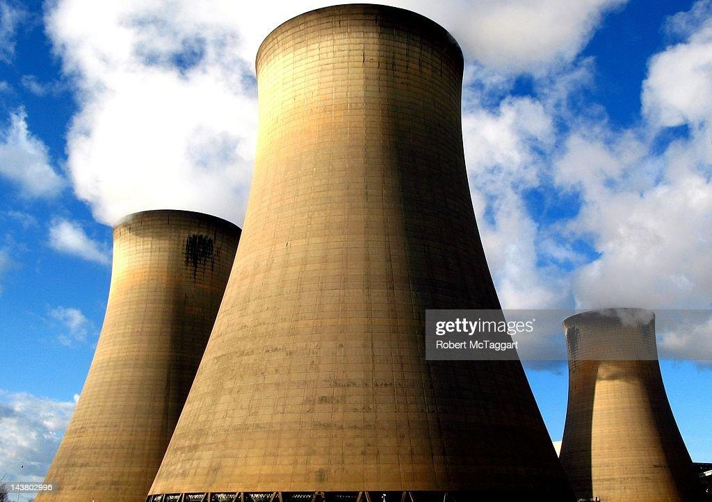 Drax Power Station : Stock Photo