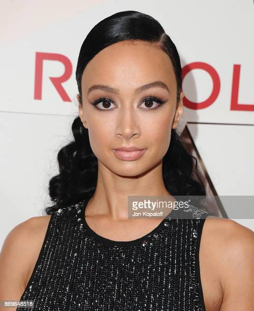 Draya Michele arrives at #REVOLVEawards at DREAM Hollywood on November 2 2017 in Hollywood California