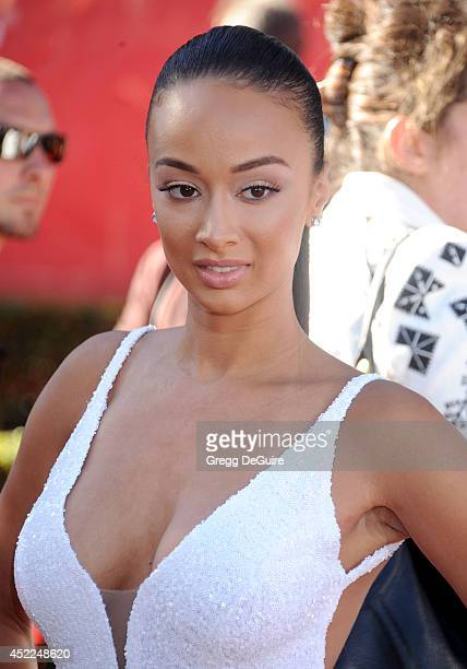 Draya Michele arrives at the 2014 ESPY Awards at Nokia Theatre LA Live on July 16 2014 in Los Angeles California