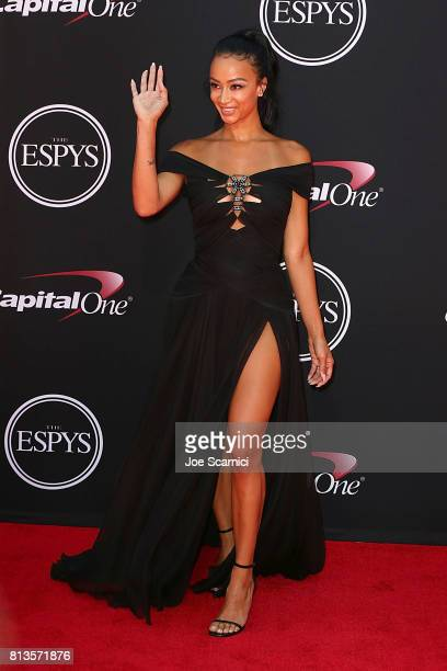 Draya Michele arrives at the 2017 ESPYS at Microsoft Theater on July 12 2017 in Los Angeles California