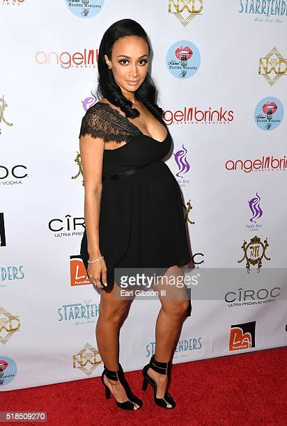 Draya Michele attends Angel Brinks Fashion 5 Year Anniversary Celebration on March 31 2016 in Los Angeles California