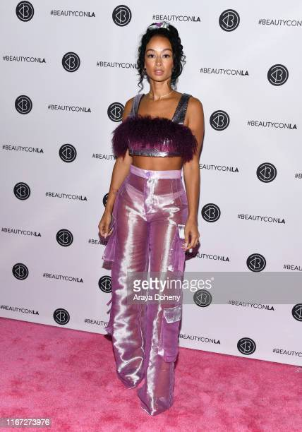 Draya Michele attends Beautycon Festival Los Angeles 2019 at Los Angeles Convention Center on August 10 2019 in Los Angeles California