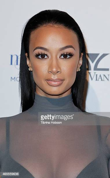 Draya Michele attends OK Magazine's PreOscar event at The Argyle on February 19 2015 in Hollywood California