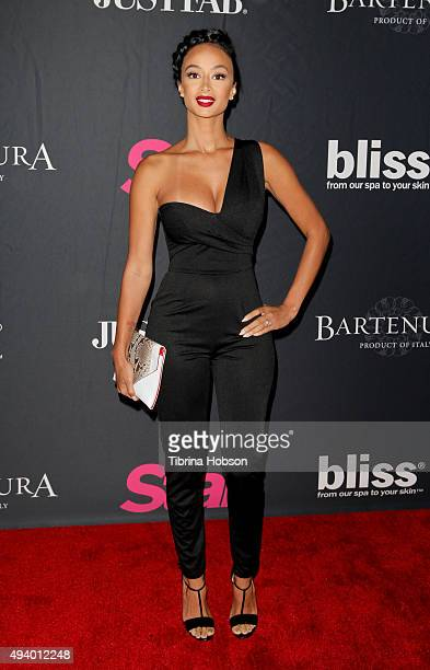 Draya Michele attends Star Magazine's Scene Stealers party at W Hollywood on October 22 2015 in Hollywood California