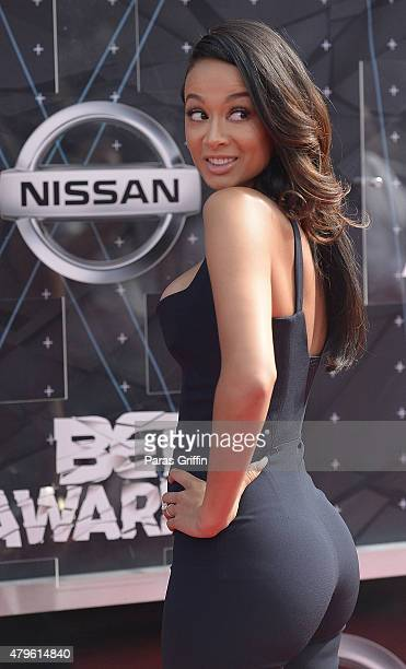 Draya Michele attends the 2015 BET Awards at the Microsoft Theater on June 28 2015 in Los Angeles California
