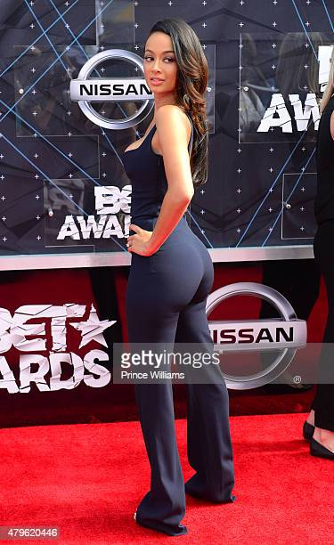 Draya Michele attends the 2015 BET Awards on June 28 2015 in Los Angeles California