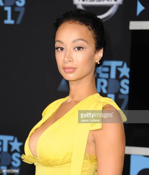 Draya Michele attends the 2017 BET Awards at Microsoft Theater on June 25 2017 in Los Angeles California