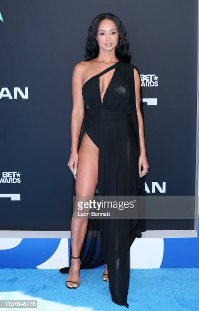 Draya Michele attends the 2019 BET Awards on June 23 2019 in Los Angeles California