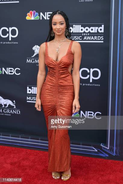 Draya Michele attends the 2019 Billboard Music Awards at MGM Grand Garden Arena on May 1 2019 in Las Vegas Nevada