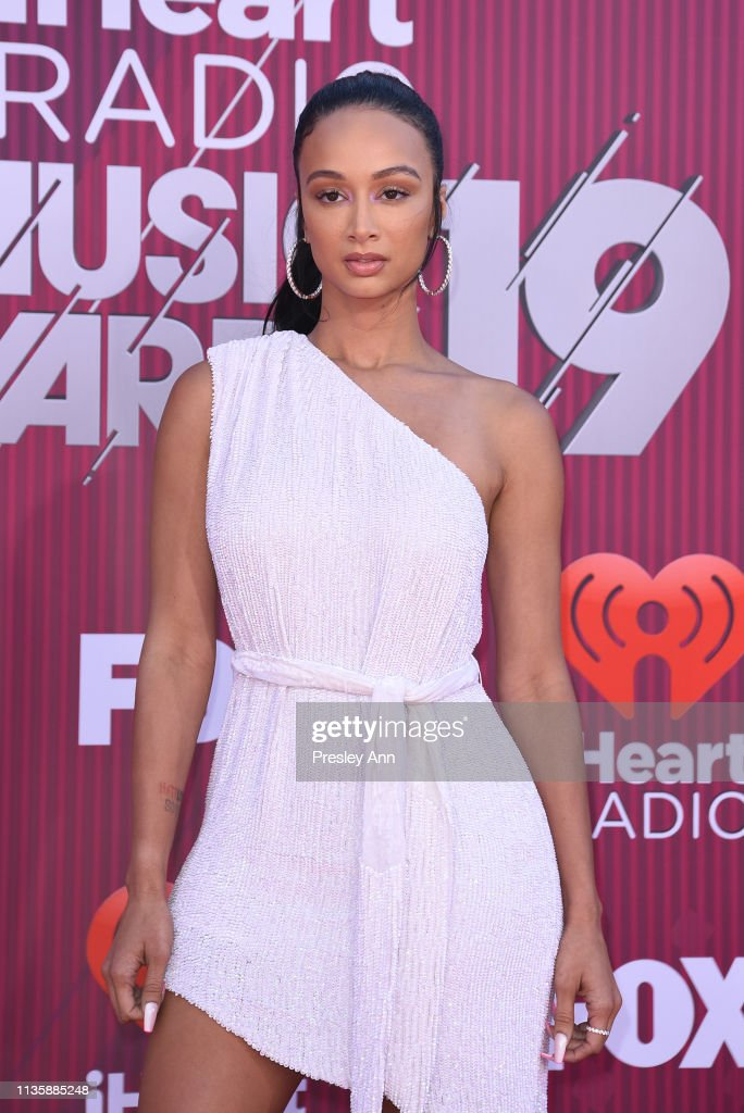 Draya Michele attends the 2019 iHeartRadio Music Awards