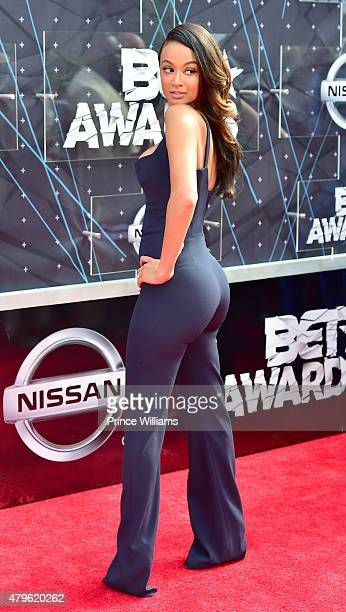 Draya Michele attends the BET Awards on June 28 2015 in Los Angeles California