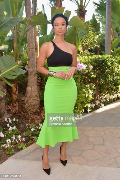 Draya Michele attends The Daily Front Row Fashion LA Awards 2019 on March 17 2019 in Los Angeles California