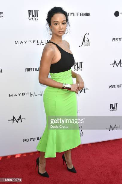 Draya Michele attends The Daily Front Row Fifth Annual Fashion Los Angeles Awards at Beverly Hills Hotel on March 17 2019 in Beverly Hills California