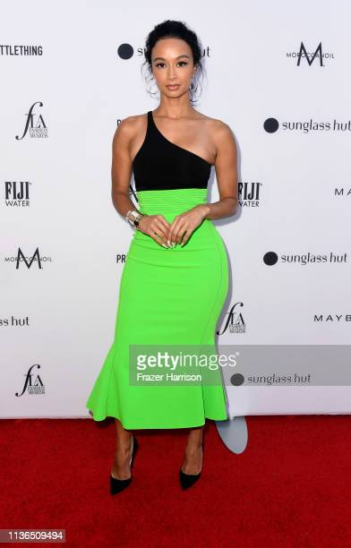 Draya Michele attends The Daily Front Row's 5th Annual Fashion Los Angeles Awards at Beverly Hills Hotel on March 17 2019 in Beverly Hills California
