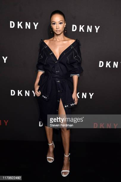 Draya Michele attends the DKNY 30th Anniversary party at St Ann's Warehouse on September 09 2019 in New York City