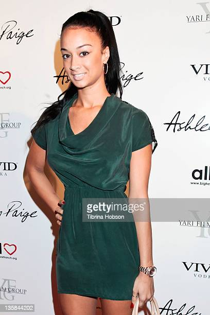Draya Michele attends the grand opening of the Ashley Paige boutique and artist studio held at The Ashley Paige Boutique Artist Studio on December 14...