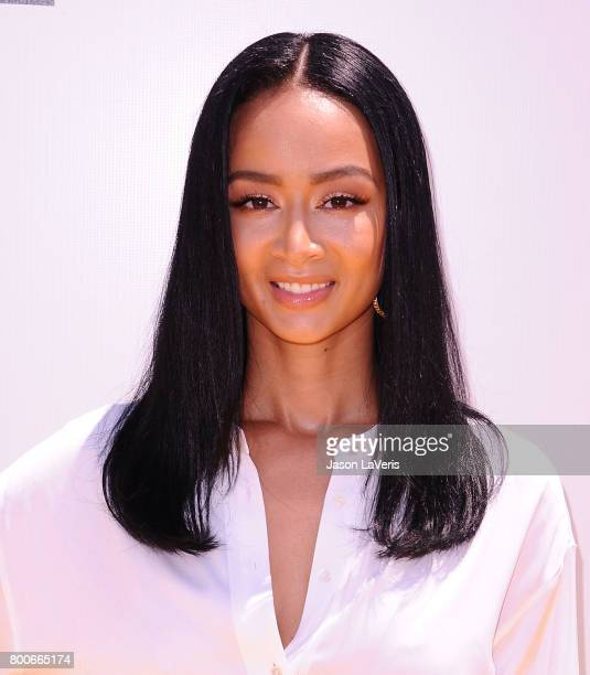 Draya Michele attends the premiere of 'Despicable Me 3' at The Shrine Auditorium on June 24 2017 in Los Angeles California
