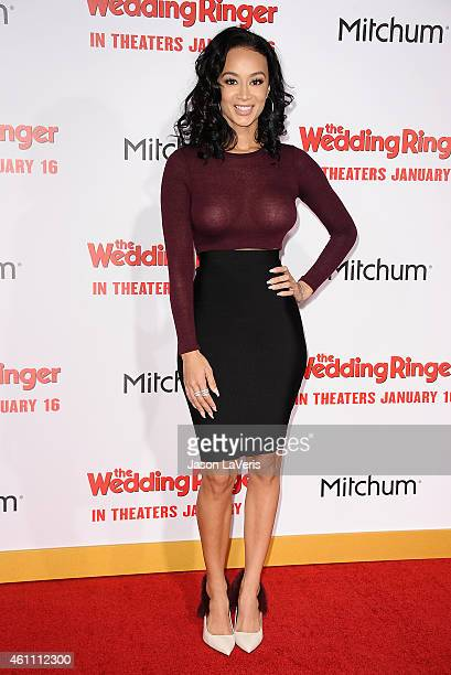 Draya Michele attends the premiere of The Wedding Ringer at TCL Chinese Theatre on January 6 2015 in Hollywood California
