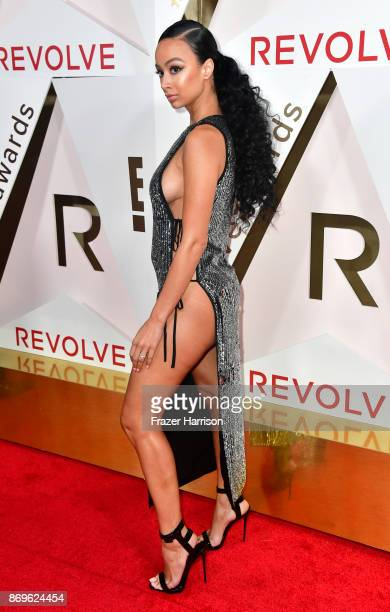 Draya Michele attends the #REVOLVEawards at DREAM Hollywood on November 2 2017 in Hollywood California