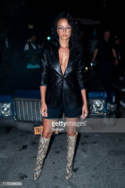 Draya Michele attends the TOMMYNOW New York Fall 2019 fashion show at The Apollo Theater on September 08 2019 in New York City
