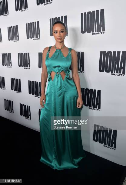 Draya Michele attends UOMA Beauty Launch Event at NeueHouse Hollywood on April 25 2019 in Los Angeles California