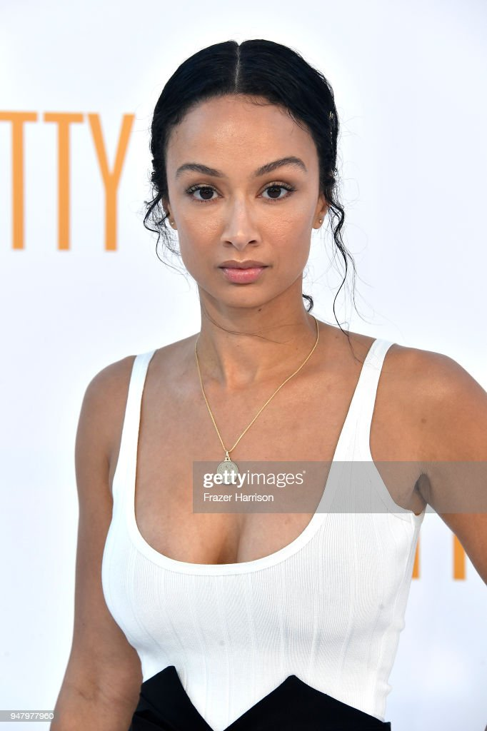 Draya Michele atttends the Premiere Of STX Films' 'I Feel Pretty' at Westwood Village Theatre on April 17, 2018 in Westwood, California.