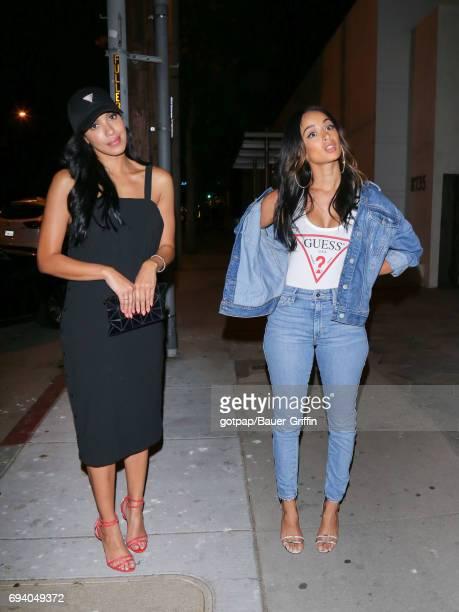 Draya Michelea and Julissa Bermudez are seen on June 05 2017 in Los Angeles California