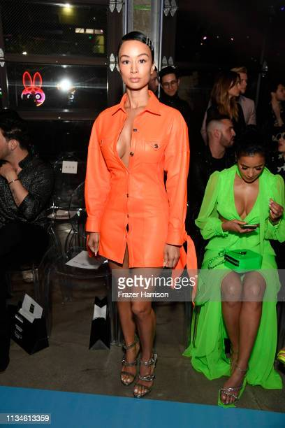Draya Michelle attends the Christian Cowan x The Powerpuff Girls fashion show at City Market Social House on March 08 2019 in Los Angeles California
