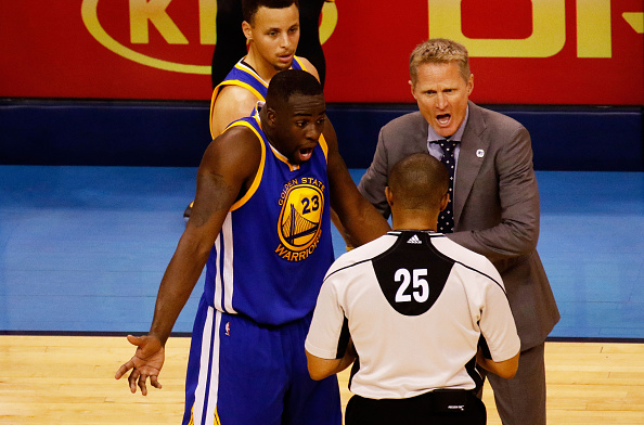 Golden State Warriors v Oklahoma City Thunder - Game Three : News Photo