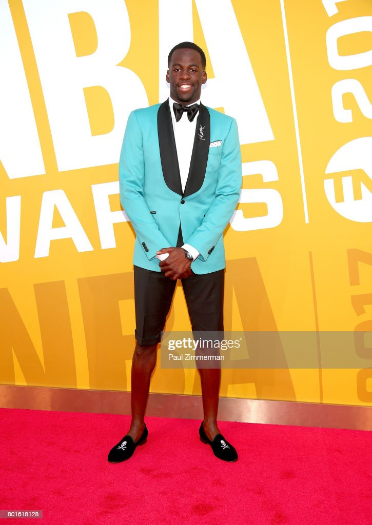 Draymond Green attends the 2017 NBA Awards at Basketball City - Pier 36 - South Street on June 26, 2017 in New York City.