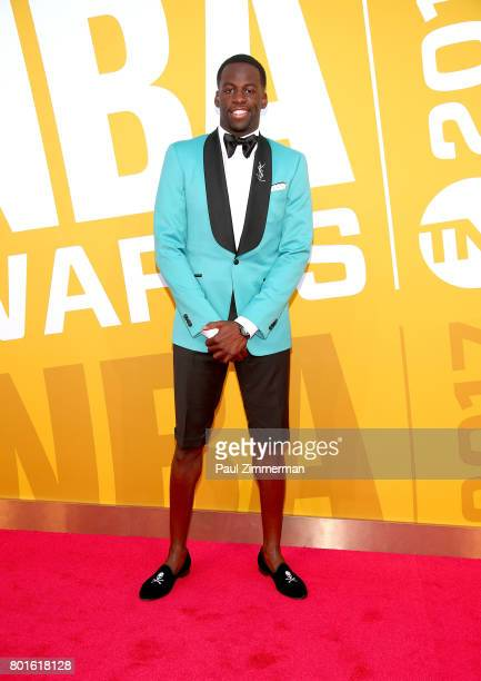 Draymond Green attends the 2017 NBA Awards at Basketball City Pier 36 South Street on June 26 2017 in New York City