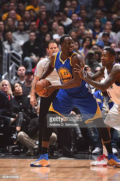 Draymond Green of the Golden State Warriors htb against the LA Clippers on December 7 2016 at STAPLES Center in Los Angeles California NOTE TO USER...