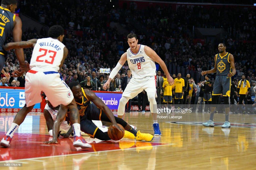 Golden State Warriors v Los Angeles Clippers : Fotografía de noticias