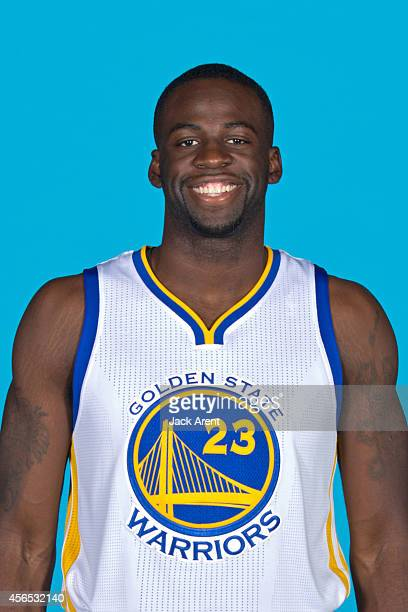 Draymond Green of the Golden State Warriors poses for a photo during Media Day on September 29 2014 at the Warriors practice facility in Oakland...