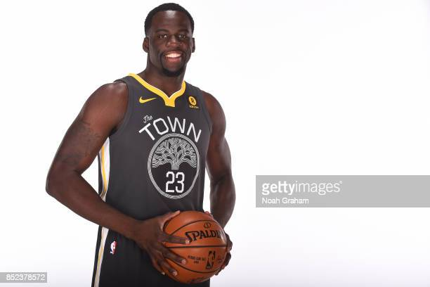 Draymond Green of the Golden State Warriors poses for a portrait during media day on September 22 2017 at Oracle Arena in Oakland California NOTE TO...