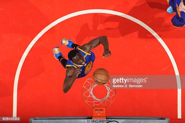Draymond Green of the Golden State Warriors shoots the ball against the LA Clippers on December 7 2016 at STAPLES Center in Los Angeles California...