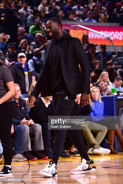 Draymond Green of the Golden State Warriors smiles during the game on March 5 2020 at Chase Center in San Francisco California NOTE TO USER User...