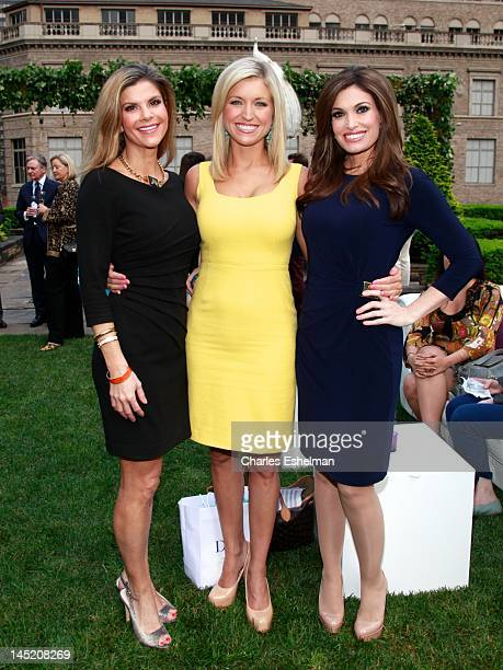 DrDendy Engelman Fox News correspondent Ainsley Earhardt and Fox News cohost Kimberly Guilfoyle attend the Faberge New York Flagship Grand Opening at...