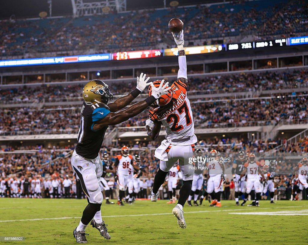 Cincinnati Bengals v Jacksonville Jaguars s and