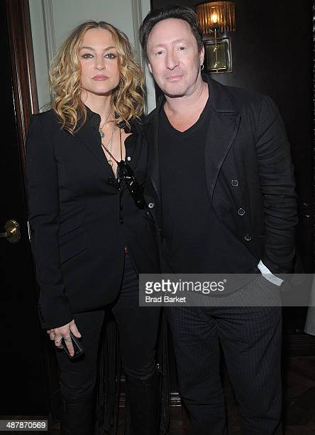 Drea de Matteo and Julian Lennon attend the Endemol Beyond NewFronts Presentation Sponsored at Gilded Lily on May 2 2014 in New York City