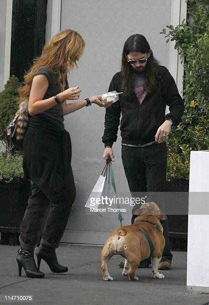 Drea de Matteo and Shooter Jennings during Shooter Jennings and Drea de Matteo Sighting In The Meat Packing District September 11 2006 at Meat...