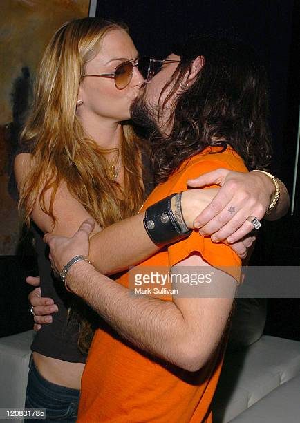 Drea de Matteo and Shooter Jennings in Backstage Creations Talent Retreat
