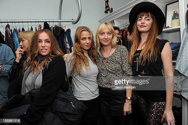 Drea de Matteo Charlotte Ronson Chrissie Miller and Lindsey Thornburg attend the grand opening of Store 143 on November 18 2011 in New York United...