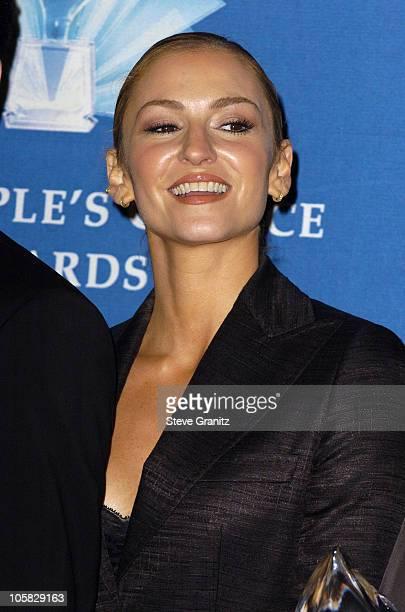 Drea De Matteo during 31st Annual People's Choice Awards Press Room at Pasadena Civic Auditorium in Pasadena California United States