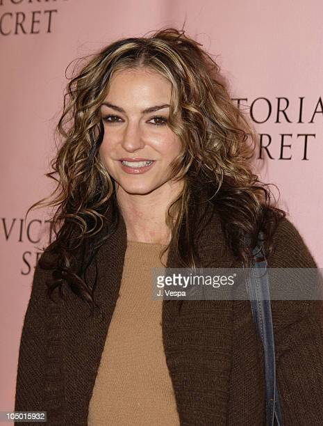 Drea de Matteo during 8th Annual Victoria's Secret Fashion Show Arrivals at The New York State Armory in New York City New York United States