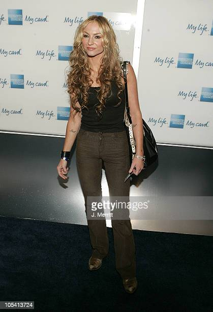 Drea de Matteo during American Express Jam Sessions at the House of Blues with Kid Rock Arrivals at House of Blues in Hollywood California United...