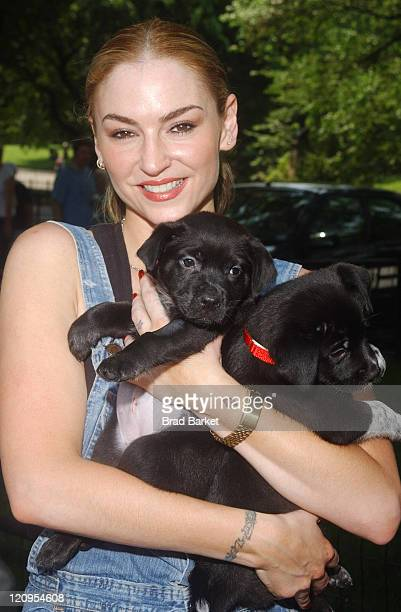 Drea de Matteo during ASPCA Announces $5 Million Commitment to Mayor's Alliance for NYC's Animals INC at Central Park Band Shell in New York City New...
