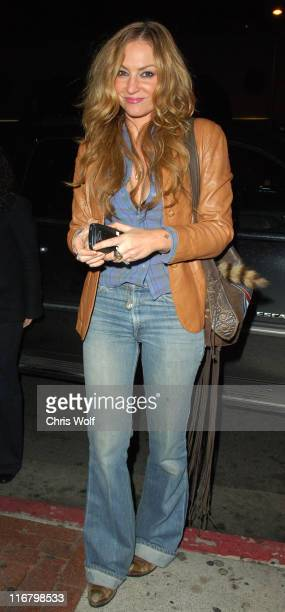 Drea de Matteo during Drea de Matteo Sighting at Hyde Club February 19 2007 at Hyde in West Hollywood California United States