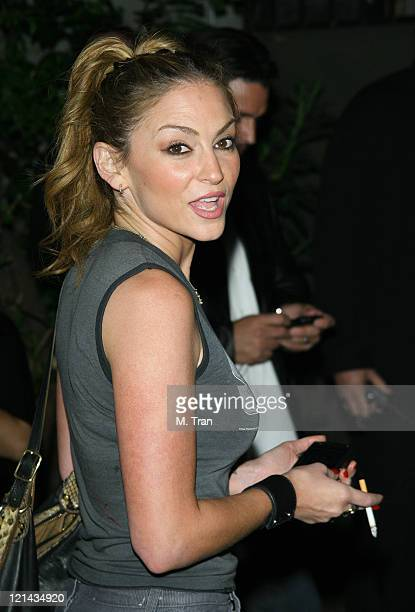 Drea de Matteo during GQ Magazine Celebrates Heineken Premium Light at Les Deux in Hollywood California United States