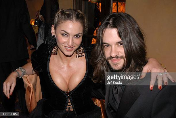 Drea de Matteo during HBO Screen Actors Guild Party at Spago in Beverly Hills CA United States
